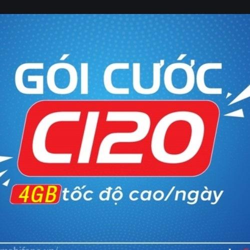 Nhập cú pháp MO C120 gửi 9084 để đăng ký gói C120