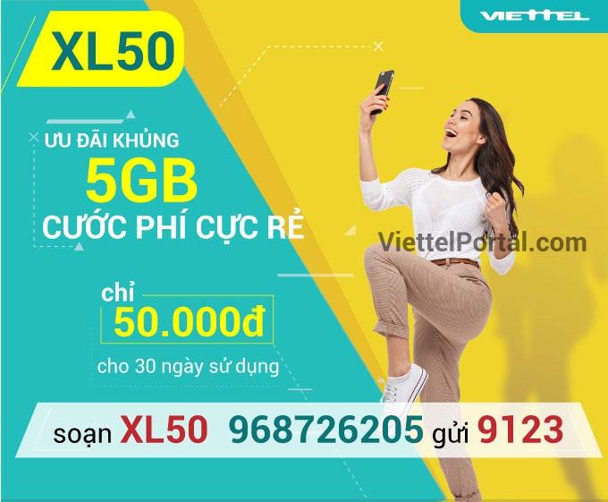 Tìm hiểu chung về gói cước XL50